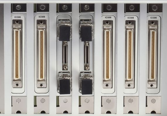 Vast range of I/O connectivity