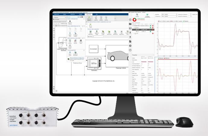 Real-Time Simulation and Testing with Simulink Real-Time and Speedgoat Hardware